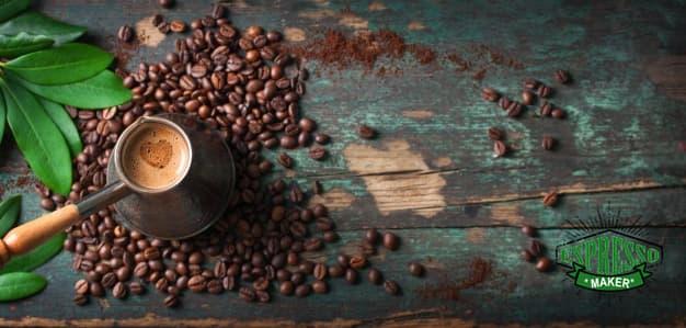 خواص قهوه ترک چیست ، طرز تهیه قهوه ترک با شیر