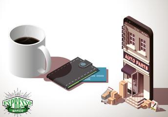 خرید قهوه لاوازا ، خرید قهوه اسپرسو