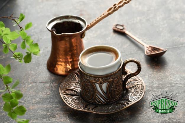 طرز تهیه قهوه ترک ، طرز تهیه قهوه با قهوه جوش