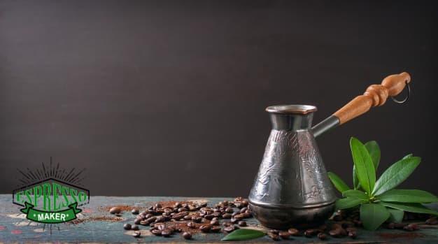 آموزش درست کردن قهوه ترک ، درست كردن قهوه با قهوه جوش