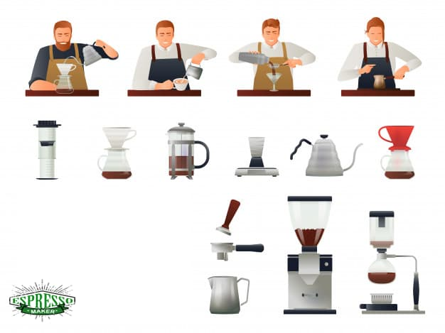 طرز تهیه قهوه با پودر اسپرسو ، طرز تهیه قهوه تلخ اسپرسو
