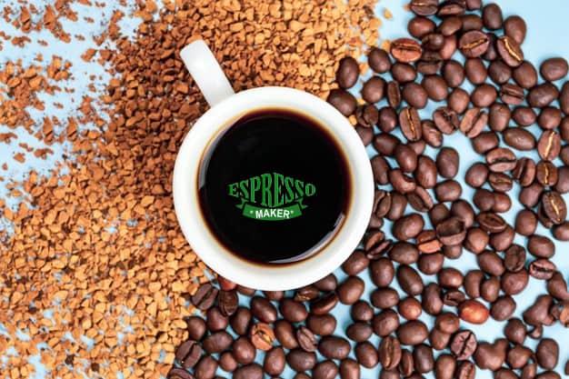 قهوه فوری علی کافه ، قهوه فوری گلد