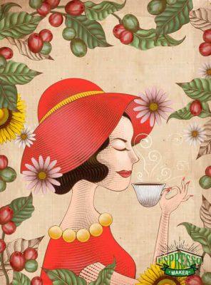 گیاه قهوه خانه ایی ، درخت قهوه در ایران