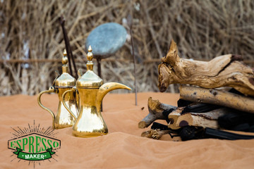 قهوه عربی خوزستان ، قهوه عربی گلد
