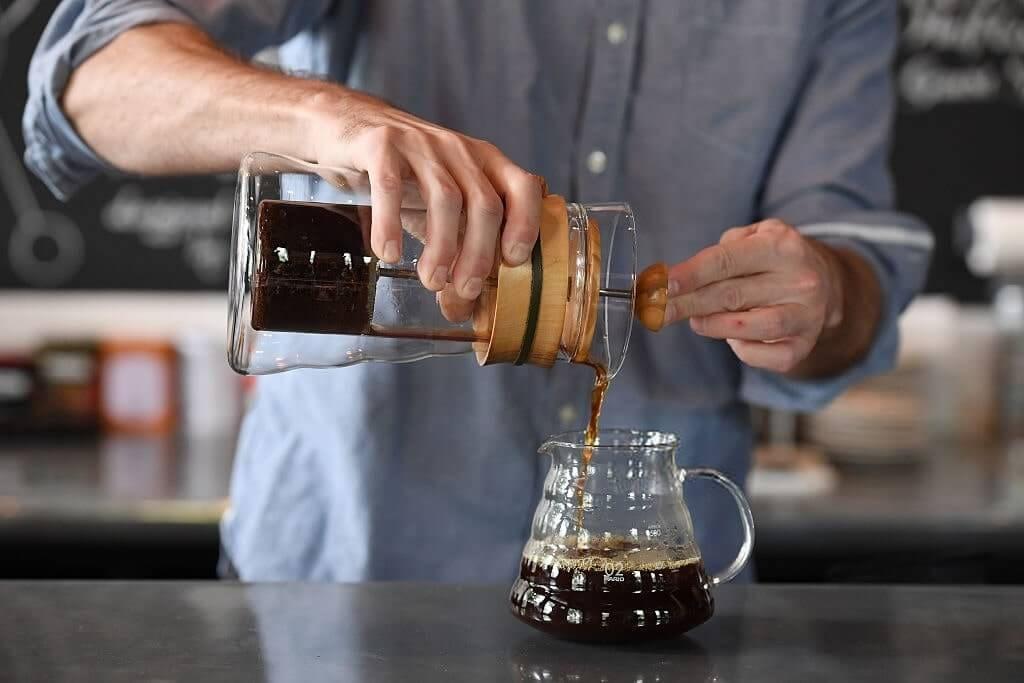 قهوه دمی کمکس
