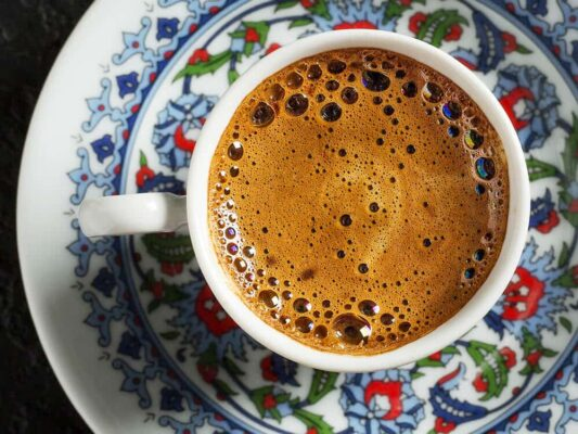 کالری قهوه ترک
