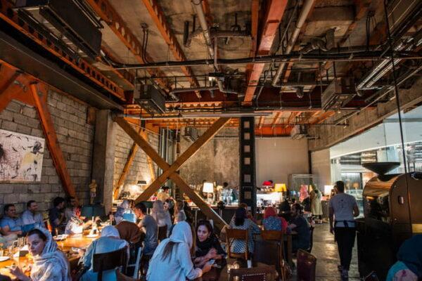 کافه های تهران و ایران