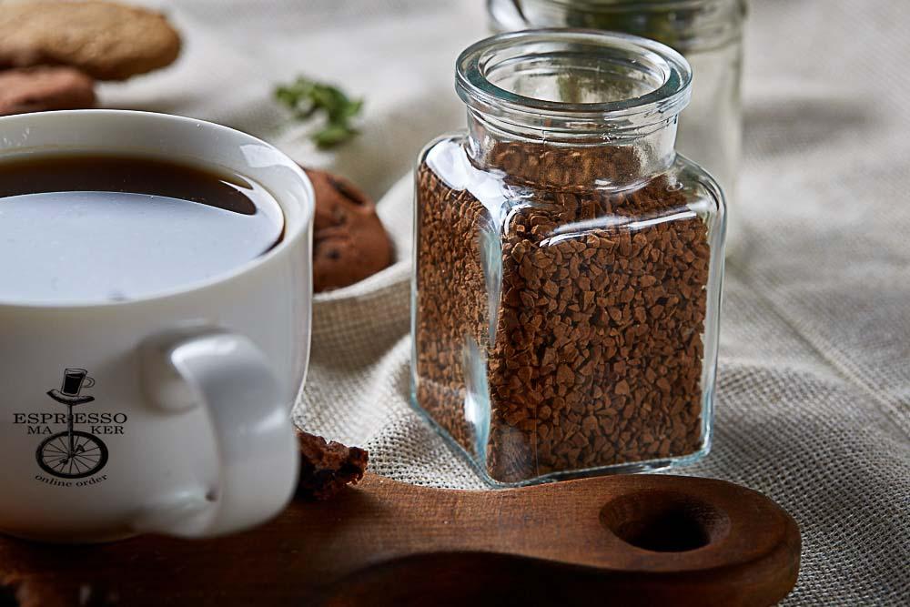 طرز درست کردن قهوه فوری