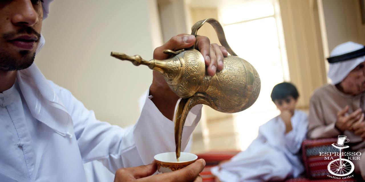 طزر تهیه قهوه عربی